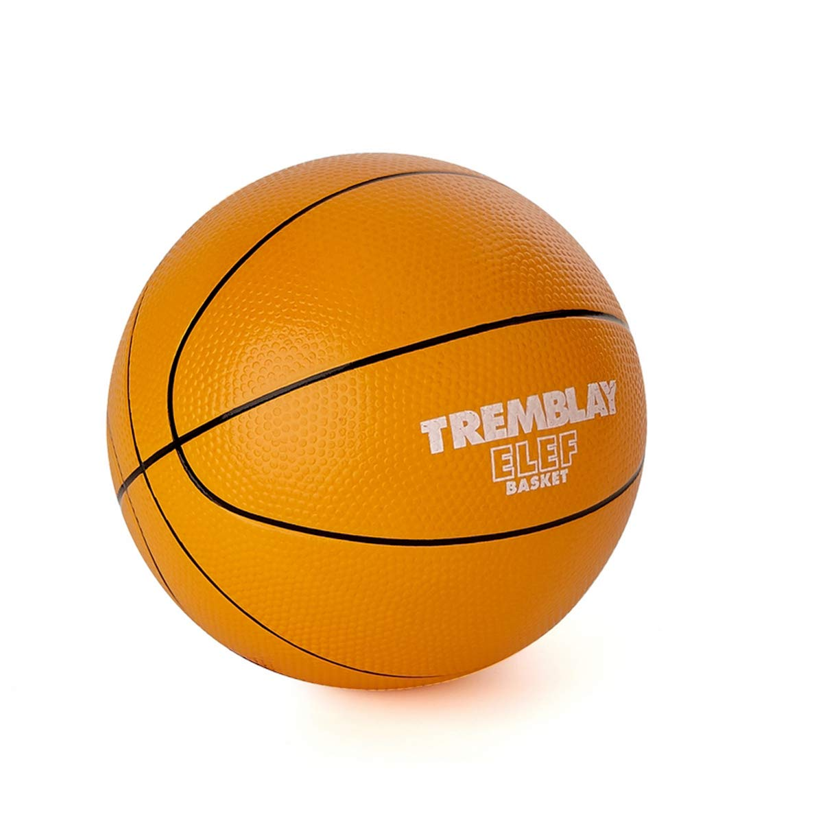 Visiodirect Ballon Basketball Mousse ELEF' Basket - Diamètre: 20cm -Poids: 300g