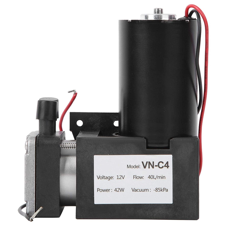 Mute Small Suction Pump Vacuum Pump Large Flow Negative Pressure Pump Industrial Parts Brushless Pump for Vacuum Packaging