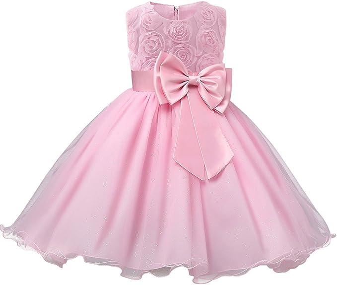 Amazon.com: Vestido de fiesta para niñas de Niyage, vestido ...