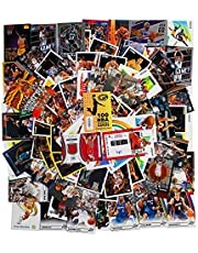NBA Basketball Hit Collection Gift Box & Collecting Guide | 100 Official NBA Cards | Includes: 2 Relic, Autograph or Jersey Cards Guaranteed | May Contain Inserts or Parallels | Perfect Starter Set