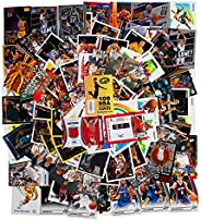 NBA Basketball Hit Collection Gift Box & Collecting Guide | 100 Official NBA Cards | Includes: 2 Relic, Au