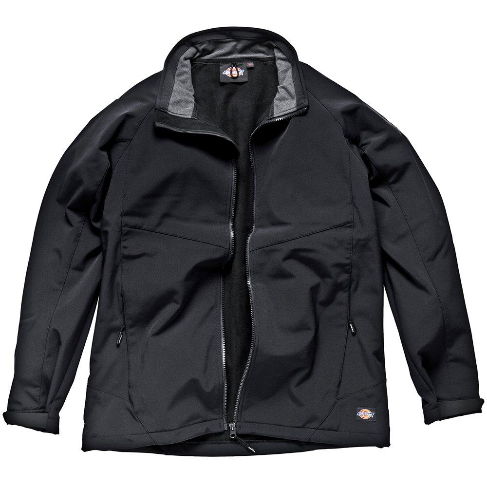 Dickies JW84950BK 3x L taglia 3X L Softshell, colore nero, nero, JW84950 BK M JW84950-Black-Medium