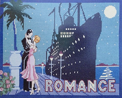 Retro Counted Cross Stitch Kit Cruise Ship Liner