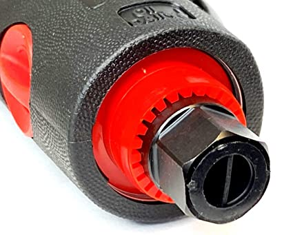 7.375 Length Pack of 1 HHIP 7609-0901 Z-Limit Ergonomic Low Noise Air Die Grinder Kit 90 PSI Air Pressure .25-inches NPT Air Inlet