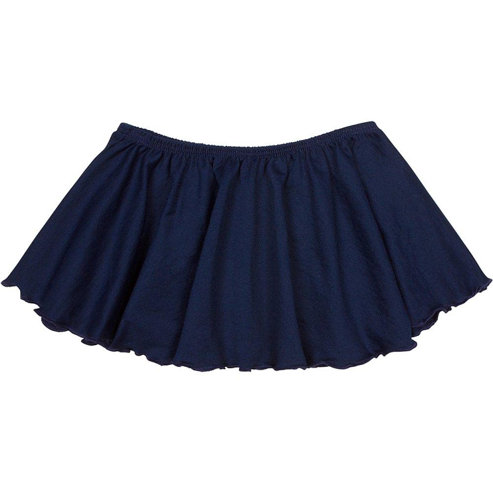 Toddler and Girls Flutter Ballet Dance Skirt Navy I (6-7)
