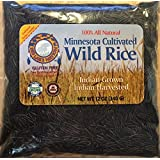 (GLUTEN FREE) Red Lake Nation 100% All Natural Minnesota Cultivated Wild Rice, 12 OUNCES