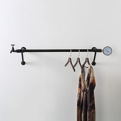 Amazon.com: Perchero de hierro forjado para colgar en la ...