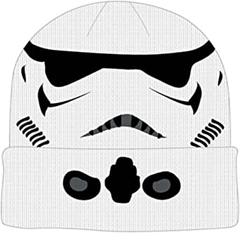 Star Wars Storm Trooper Cuff Beanie Winter Hat