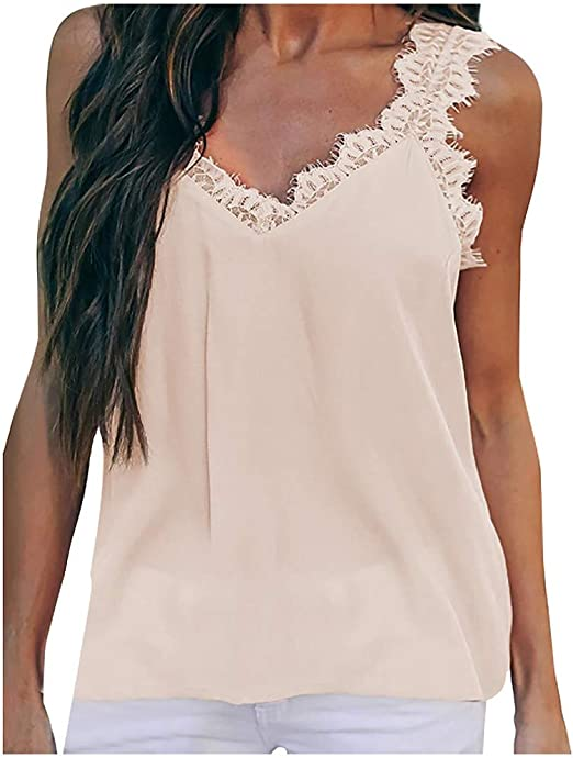 Ladies Women Plain Basic Ribbed Camisole Vest T-Shirt Top Sleeveless Cami Blouse