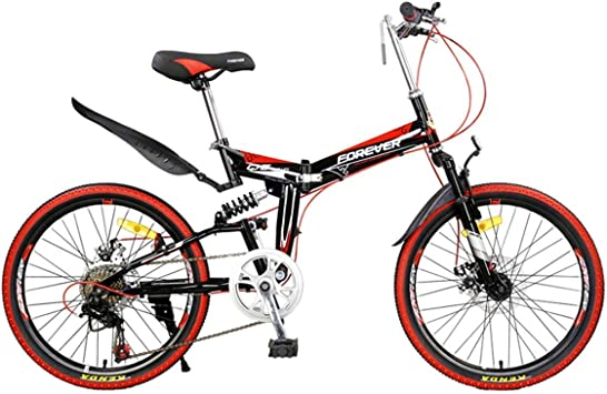 WJSW Bicicleta de montaña de 26 Pulgadas Bicicletas para niños 7 ...