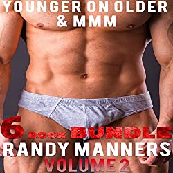 Gay MMM & Younger on Older Man 6 Book Bundle, Volume 2