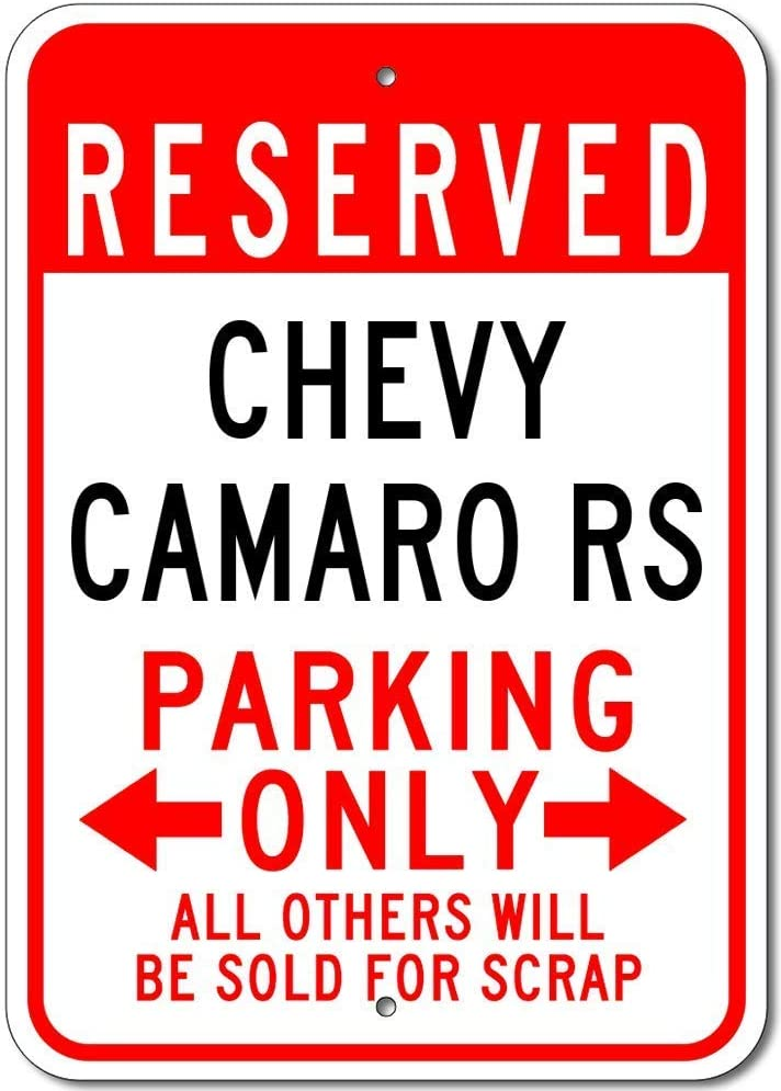 Kilburn Chevy Camaro Rs Retro Kreative Wanddekoration Pers/önlichkeit Trend Hintergrund Einfacher Stil Eisen Gem/älde
