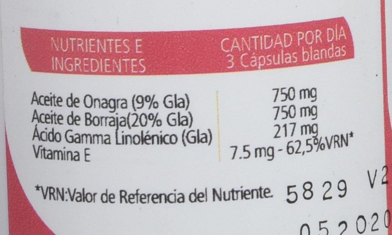 SANON Onagra-Borraja 110 perlas de 690 mg