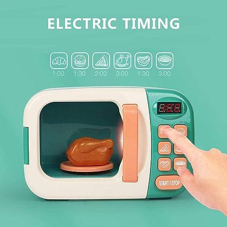 awhao-123 Microondas Juguete De Cocina Electrodomesticos Juguetes ...