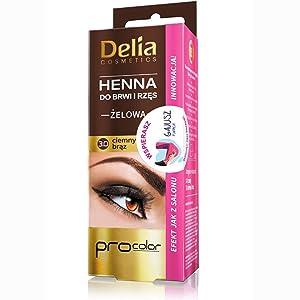 Delia Colour Henna Gel 3.0 Dark Brown 15ml