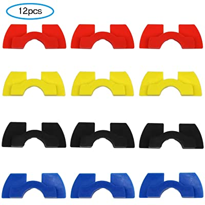 Together-life 12 Pack Rubber Vibration Dampers, Rubber Shock Absorber Electric Scooter Accessories Parts Compatible with Xiaomi Mijia M365 M187 Electric Scooter : Sports & Outdoors