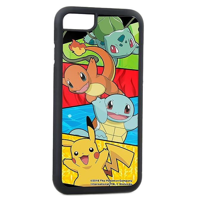 cheaper b8f81 80c14 Buckle-Down Cell Phone Case for iPhone 5 - Pikachu & Kanto Starter/Type  Symbol Blocks FCWood Multi Color - Pokemon
