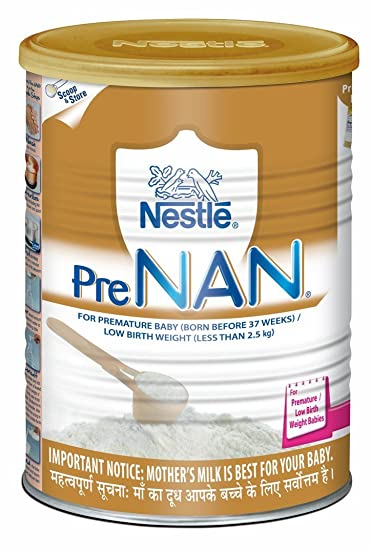 Nestle PRE NAN Low Birth Weight Infant Milk Formula 400g (For premature baby (born before 37 weeks / Low birth weight (less than 2.5 kg))