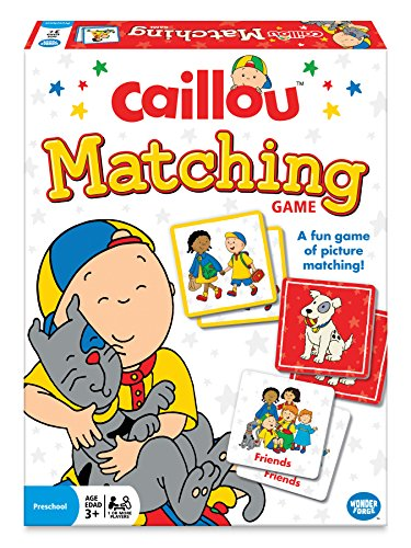 Wonder Forge Caillou Matching Game product image