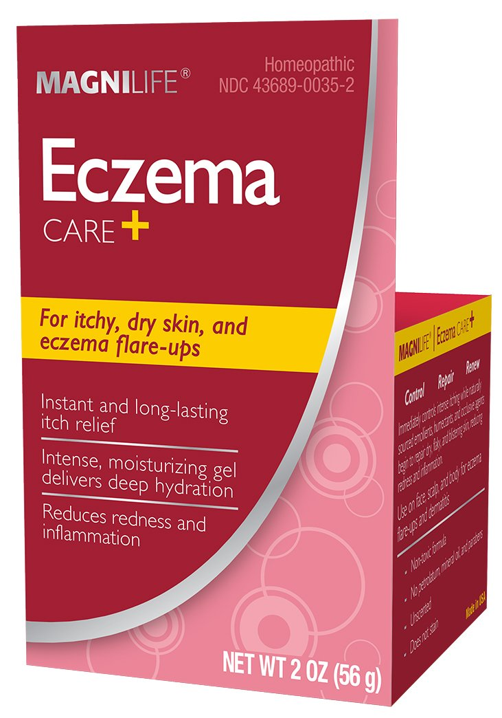 Eczema Care+ Natural Cream: Relieves and Heals Rosacea for Dry, Itchy and Irritated Skin | 2 oz