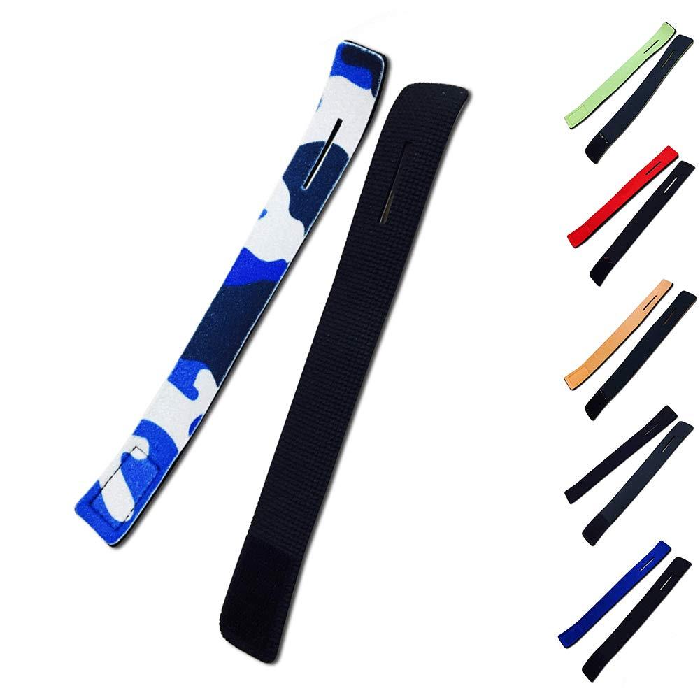 SUPEWOLD 10 St/ück Angelrute Krawatteng/ürtel Strapse Tackle Strap Wrapping Band K/öder Casting Spinning Rod Straps Holder 3 x 25 cm