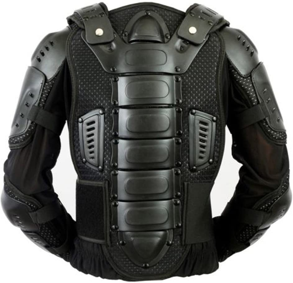 KIDS//CUBS BLACK SCORPION SPINE GUARD CE BODY ARMOUR MOTORBIKE PROTECTION JACKET 12-13 Years