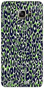 Snoogg Leopard Print Designer Caso Protector De La Contraportada Para Samsung...