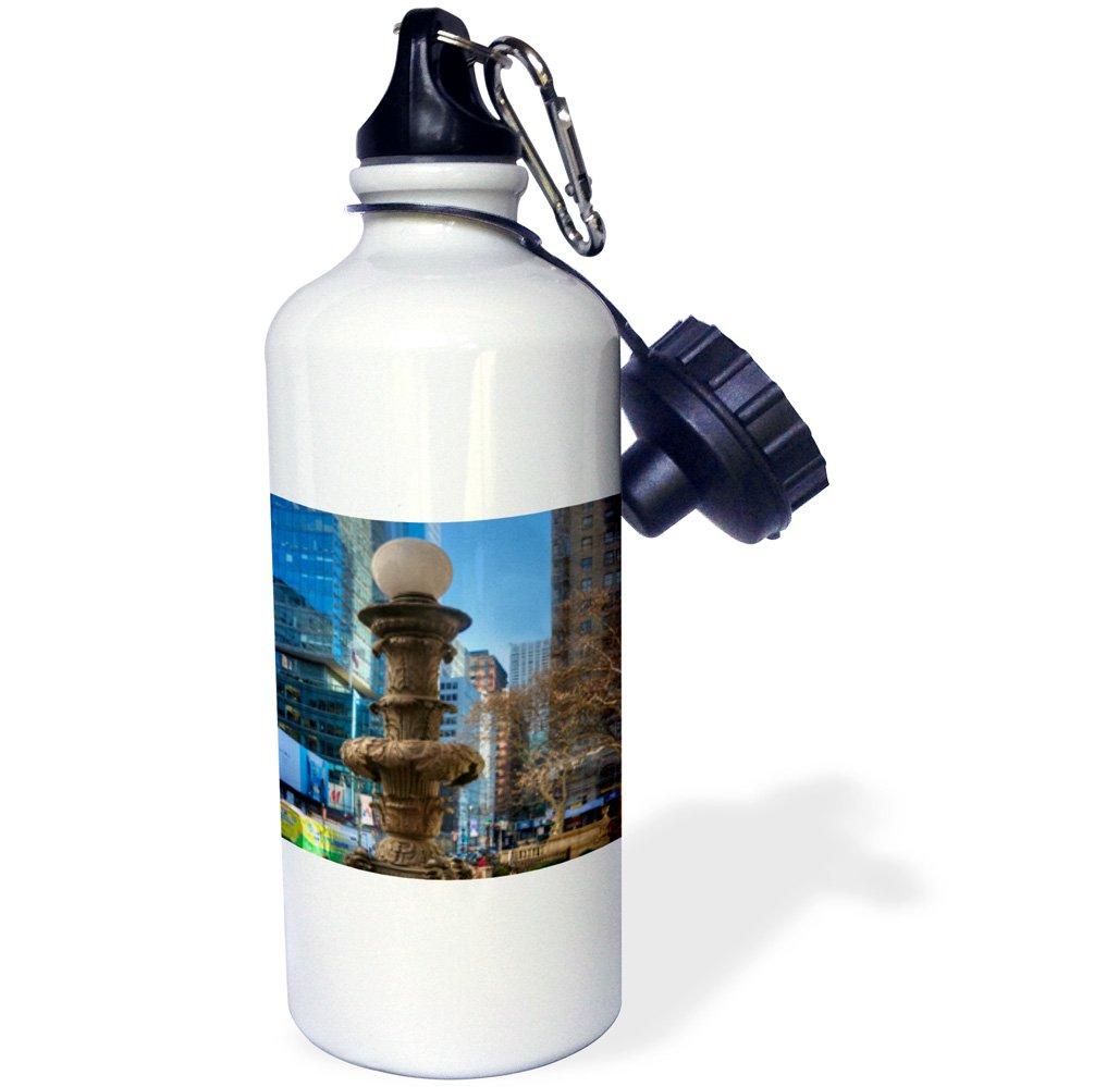 wb/_203260/_1 21oz 3dRose New York City-Architecture-Sports Water Bottle 21 oz Multicolor