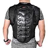 Lixada Men's Motorcycle Armor Vest MTB Bike Riding