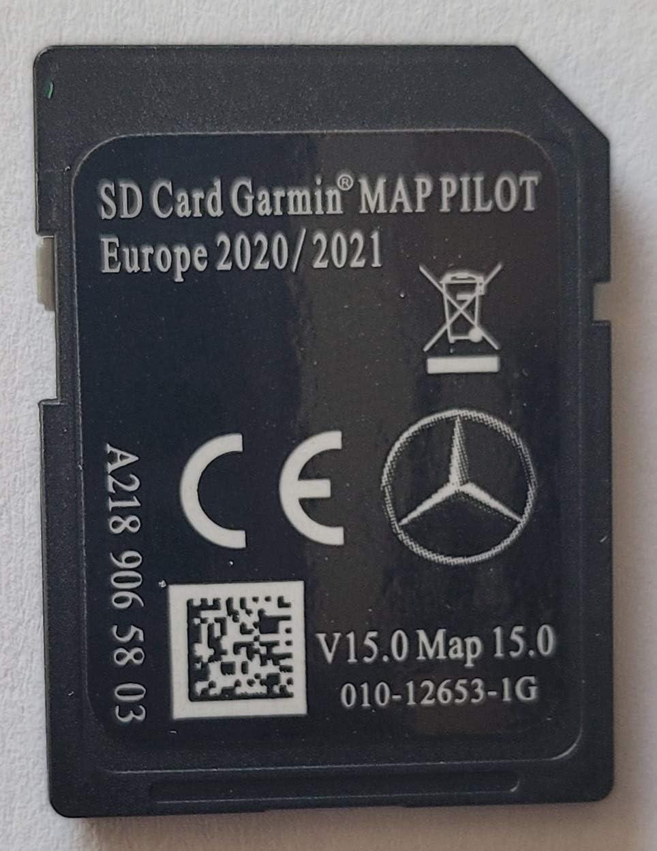 Tarjeta SD GPS Mercedes Garmin Map Pilot Europe 2020-2021 ...