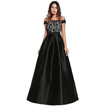 Moda Vestido | Vestido para mujer Europeos y Americanos | vestidos vestido de noche de satén