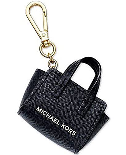michael kors key charms selma key fob black amazon co uk shoes bags rh amazon co uk