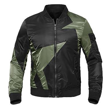 Veefpsm Thin Autumn Military Jacket Men s Military Pilot Air Force Jacket  Tactical Coat Coat Black M 390f3a517fe