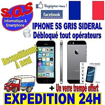 Smartphone Apple Iphone 5S Original 16 GB gris espacial ...