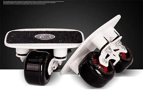 HYSH Patines Drift Ruedas de PU con cojinetes de Gama Alta Wear-Resisting Skateboard Sports