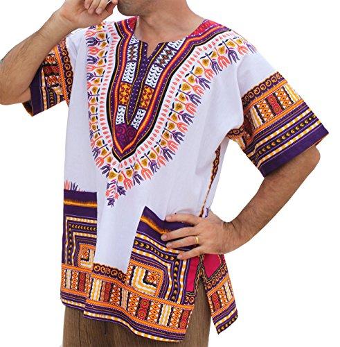 raanpahmuang-brand-unisex-bright-african-white-dashiki-cotton-shirt-52-violet-x-large