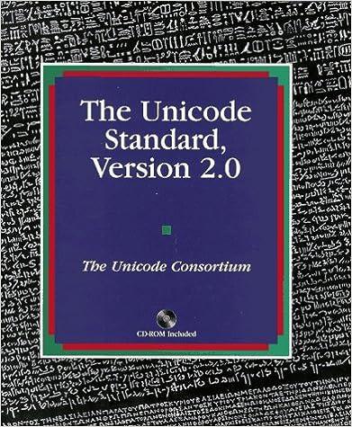 The Unicode Standard Version 2.0