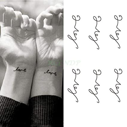 Etiqueta engomada del tatuaje temporal a prueba de agua cintura ...