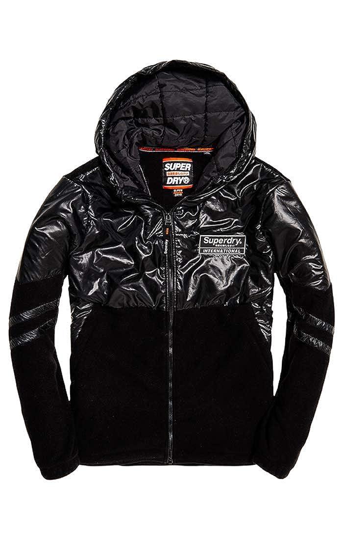 Superdry Polar International Zip Hood Sudadera para Hombre