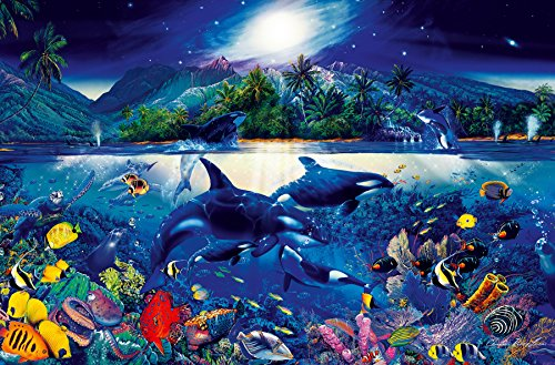 Ideal Décor DM649 Majestic Kingdom 45-Inch-by-69-Inch mural (Mural Whale)