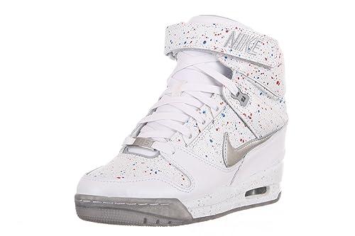 check out 08a12 686f5 Nike Air Revolution Sky Hi FW QS City Pack Paris Womens Wedge Basketball  Shoes 633525-