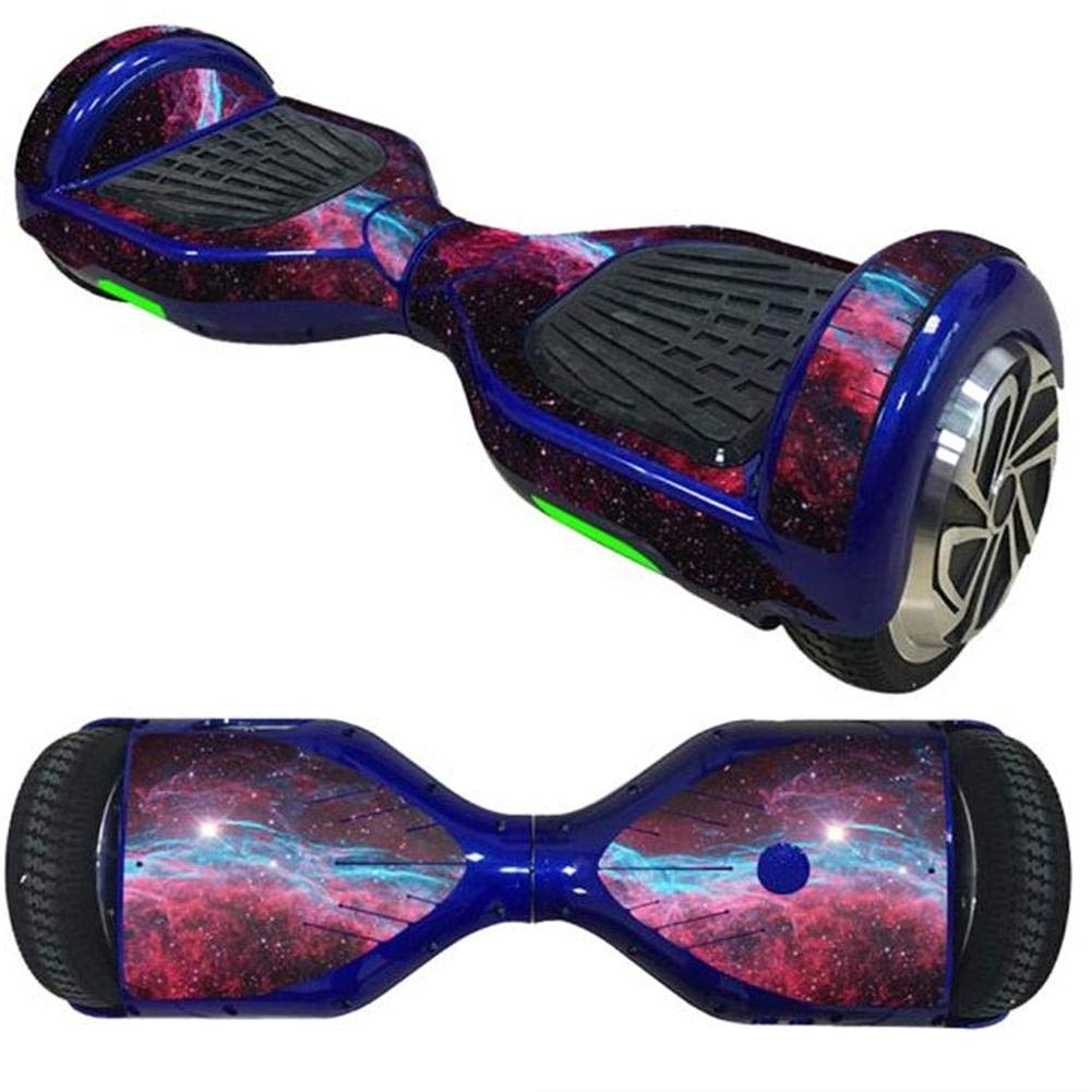 Cool Protective Electric Skateboard Sticker Electric Scooter sticker Wrap Self Balance Board Skin Two Wheel Self Balancing Scooter Sticker For Teenager Student & Adults,6.5 Inch Someday