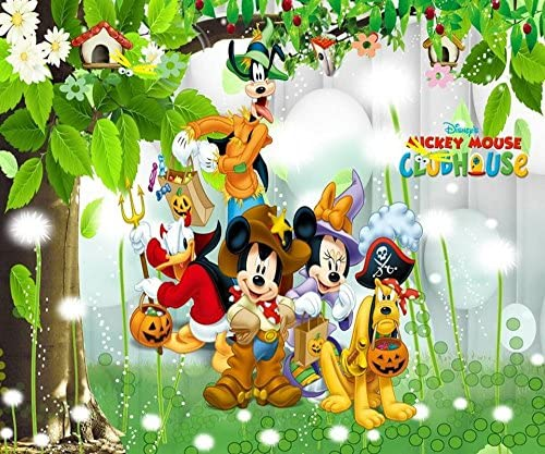 Trustech Customised Disney Mickey Mouse Club House Team 3d