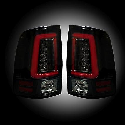 Recon 264336bk Dodge Ram 2013 2017 Ram 2500 3500 2014 2016 Smoked Tail Lights