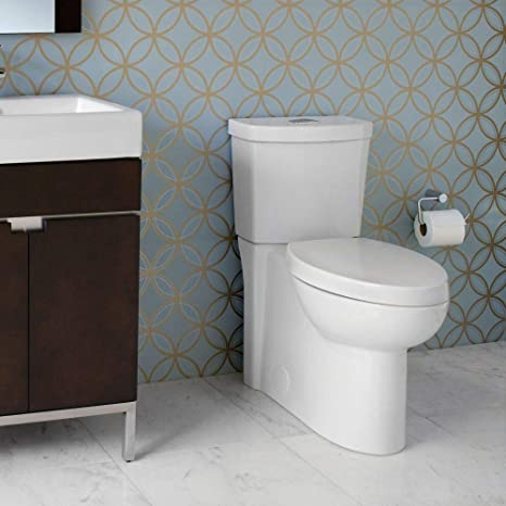 Prime American Standard 2794 204 020 Studio Concealed Trapway Dual Flush Right Height Elongated Toilet White Inzonedesignstudio Interior Chair Design Inzonedesignstudiocom