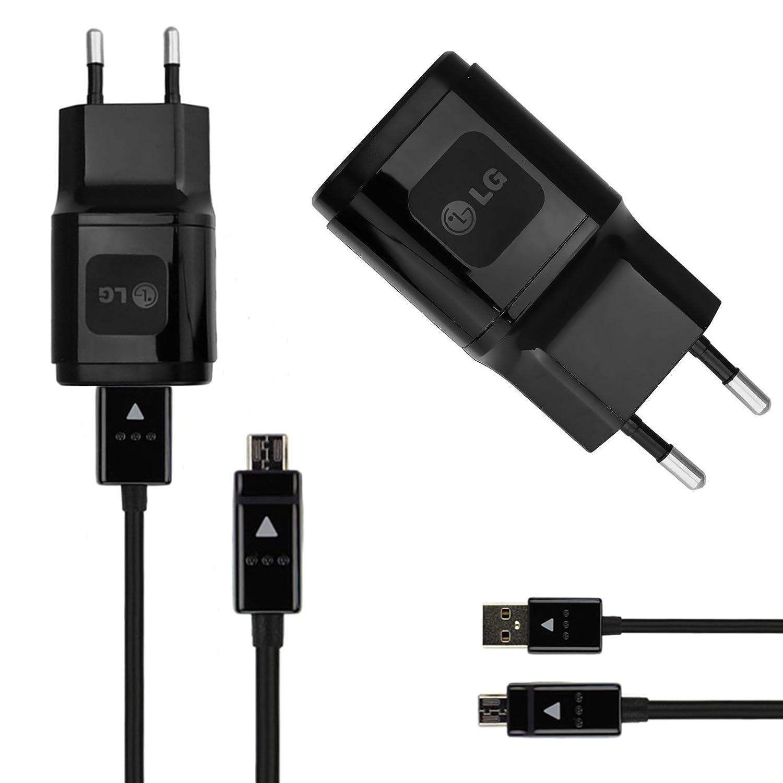 Original LG tipo C 1.8 a negro Cargador Fuente de datos USB cable ...