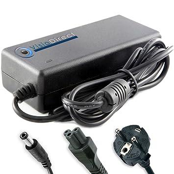 Visiodirect Adaptador cargador para ordenador portátil TOSHIBA Satellite A50-110: Amazon.es: Electrónica