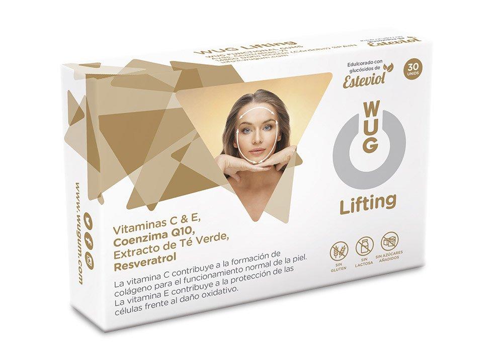 WUG Lifting Facial Chicle Ideal para el Cuidado de Piel ...