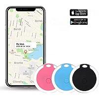 Key Finder, Afaneep Buscador de Llaves con APP, Control de Cámara del Teléfono y Función de Grabación y Recordatorio de Alarma Anti-Pérdida 1 Paquete-Negro