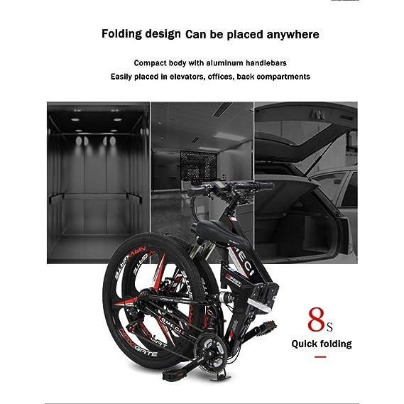 BNMZX Bicicleta de montaña Doble suspensión Unisex Bicicleta ...